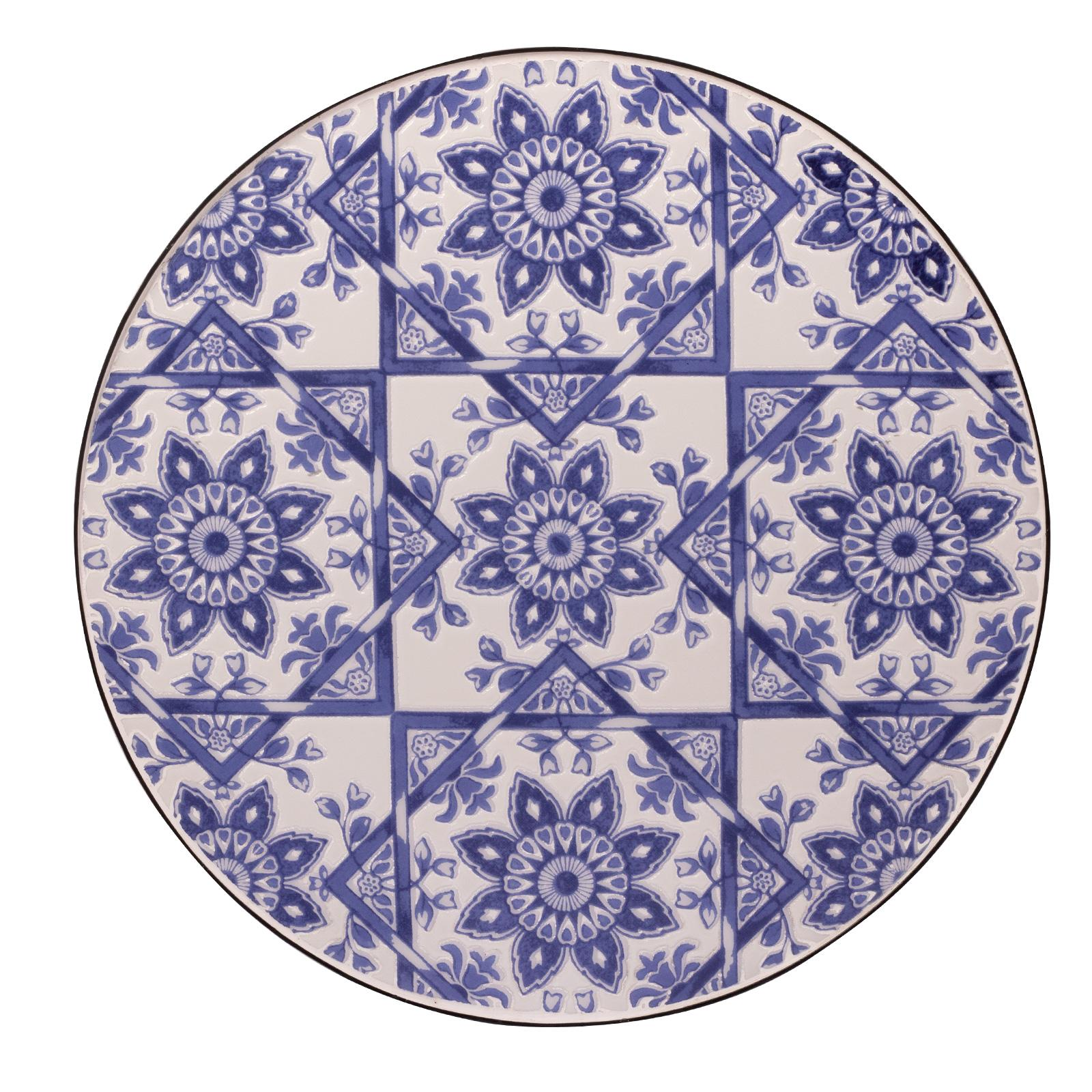 Set bistrot per arredo esterno mosaico tavolino tondo 60 ...
