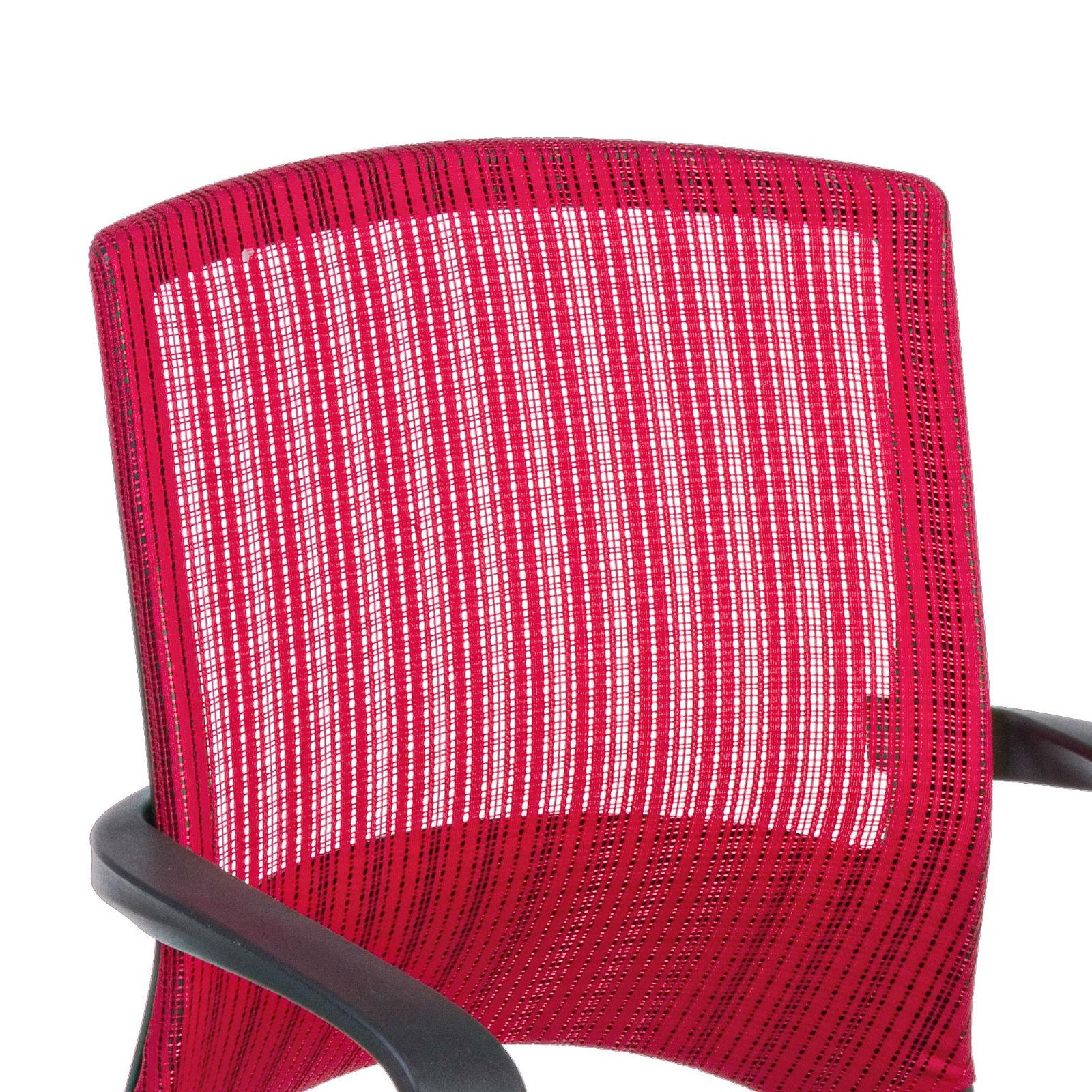 Sedia da ufficio girevole in tessuto ergonomica con seduta ...